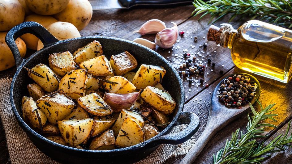 Cartofi taranesti la cuptor