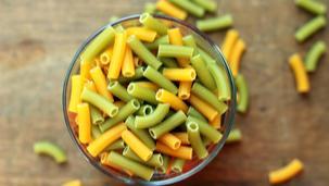 Zupa z fasolki szparagowej z makaronem