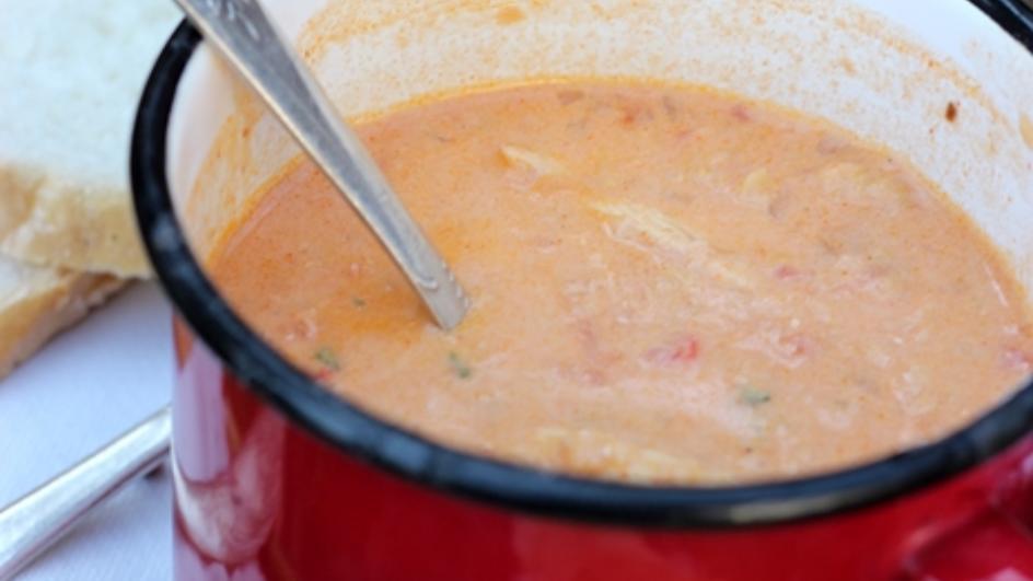Zupa potrawka z indyka z soczewicą