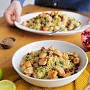 Superfood Salat mit Hähnchenbrust