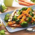 Carrot, Broccoli & Pepita Salad