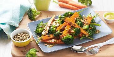 Carrot, Broccoli & Pepita Salad