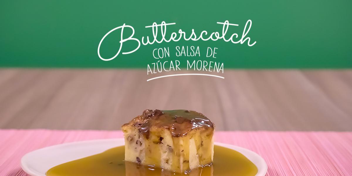 Butterscotch salsa de azúcar morena