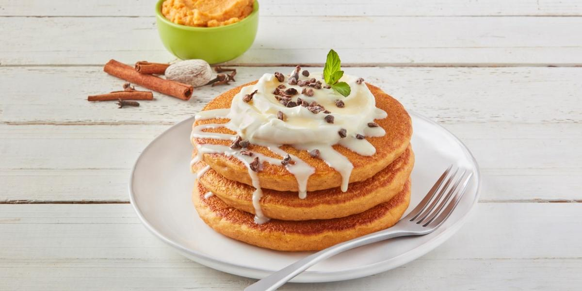 Hot cakes pumpkin spice