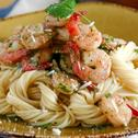Shrimp Scampi Linguini
