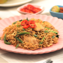 Malaysian Fried MAGGI Noodles with Soy Chicken
