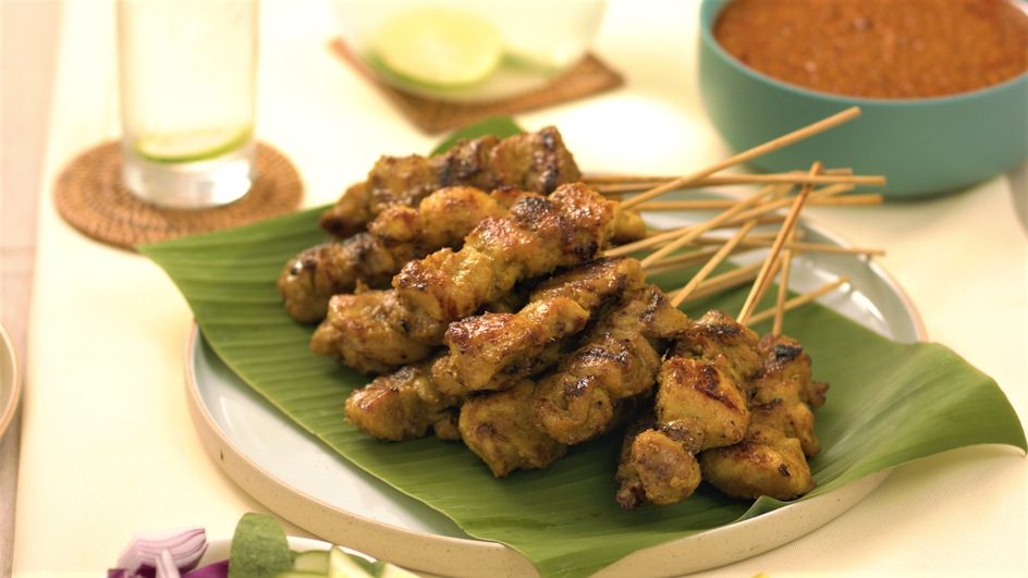 Classic Malaysian Chicken Satay