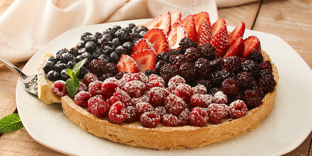 Tarta de Fruta sin Gluten