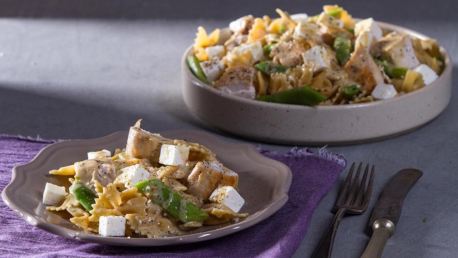 Σαλάτα ζυμαρικών με κοτόπουλο