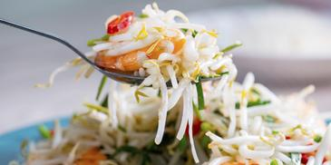 Simple Stir-Fried Bean Sprouts
