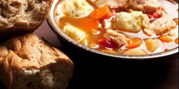 Supa de purcel cu galuste
