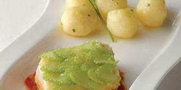 King Fish with Celery Mousse