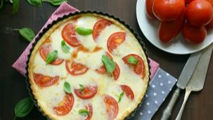 Milánói mozzarellás pite